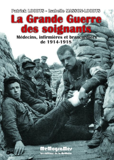 memogrames - loodts-masson - la grande guerre des soignants 2e édition - cover