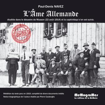 memogrames - p.d. navez -l ame allemande cover 2014