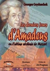 couverture Derniers Jours d'Amadeus