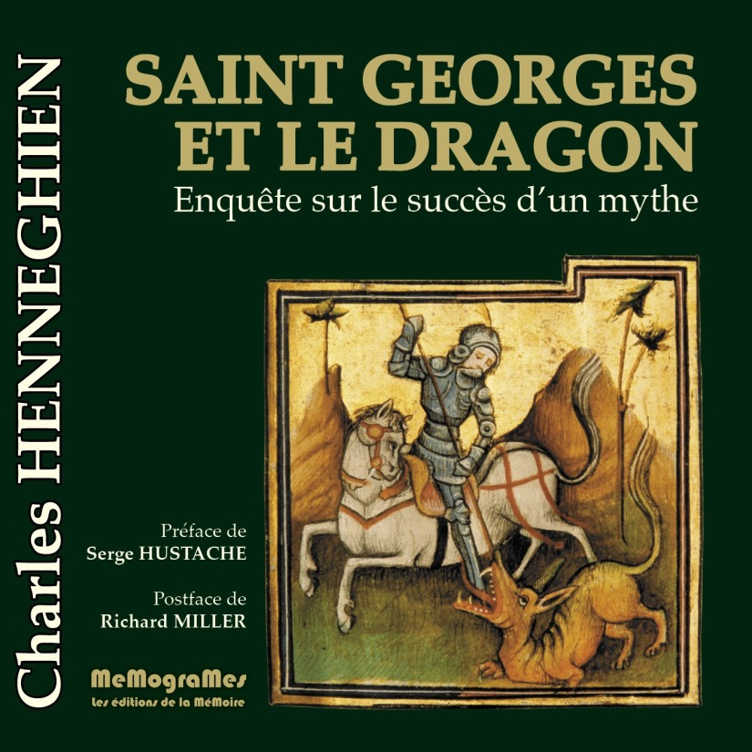 Memogrames - saint Georges et le Dragon - cover -isbn 978-2-930698-00-7