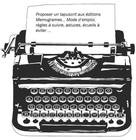 Machine à écrire -proposer un tapuscrit