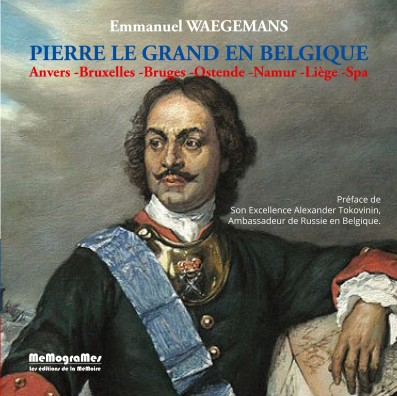 WAEGEMANS -Pierre Le Grand en Belgique - Couverture page 1